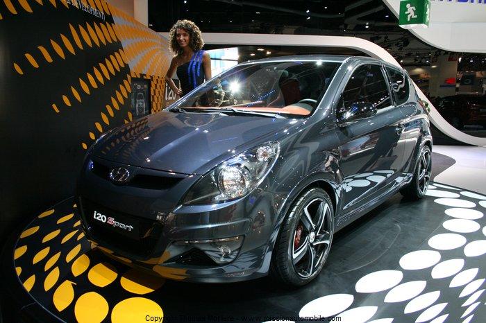 hyundai i20 sport 2010 mondial auto 2010. Black Bedroom Furniture Sets. Home Design Ideas