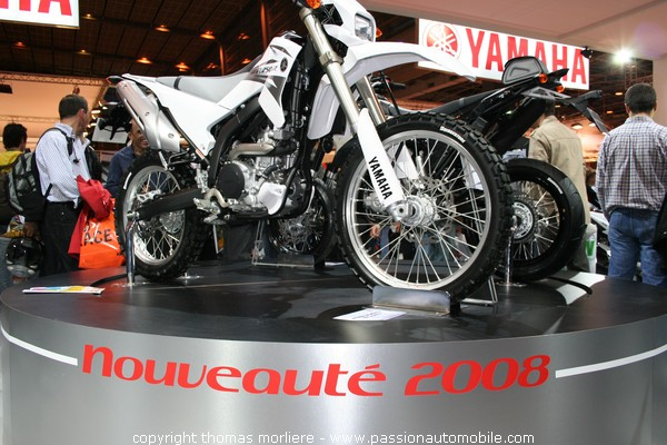 yamaha wr 250 r 2008 mondial de la moto de paris 2007 salon de la moto. Black Bedroom Furniture Sets. Home Design Ideas