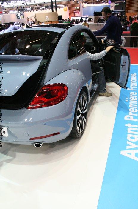 Volkswagen nouvelle beetle 2011 salon automobile de lyon for Salon automobile de lyon